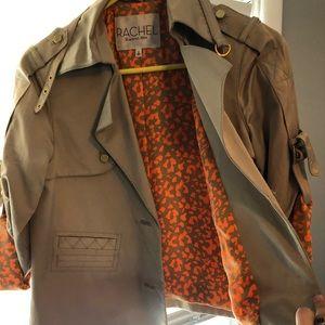 Rachel Roy blazer/ rain coat